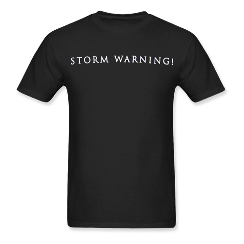 Youth Storm Warning Tee - Black