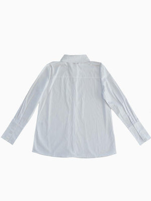 THE BOYFRIEND SHIRT WHITE - HAUS
