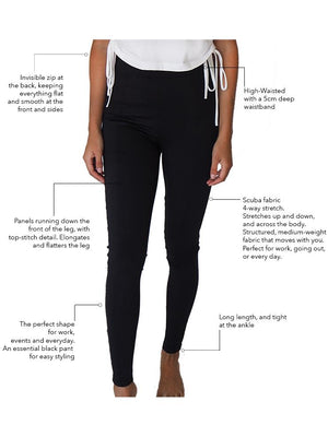 THE EAST SIDE PANT BLACK