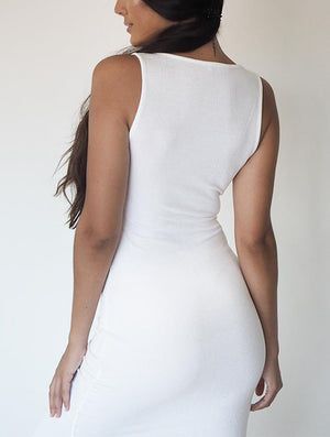 THE SOHO DRESS WHITE