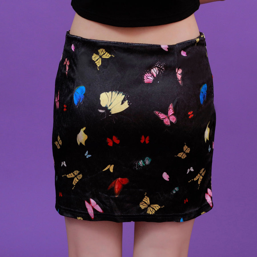 """BUTTERFLY ATTACK"" SKIRT"