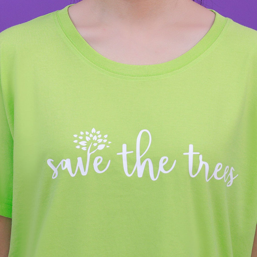 """SAVE THE TREES"" SHIRT"