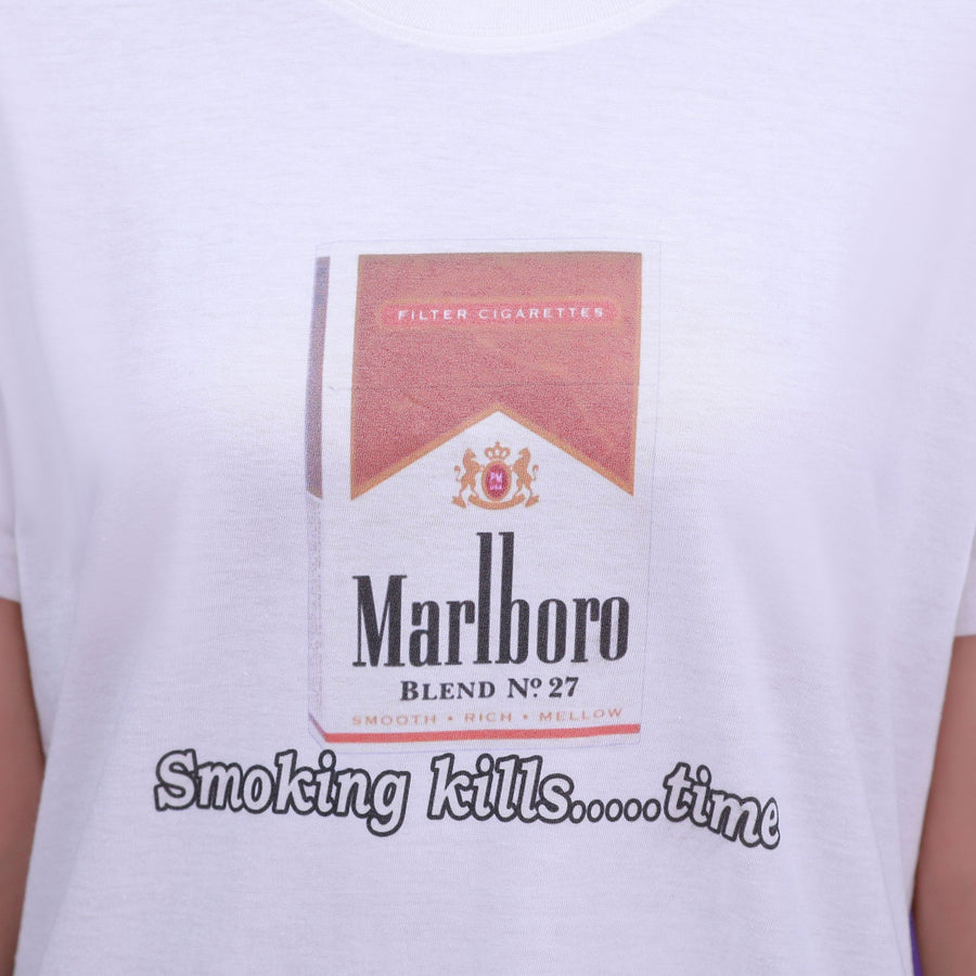 """SMOKING KILLS TIME"" SHIRT"
