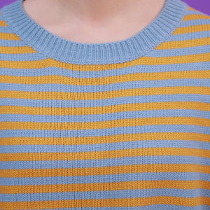 """BLACK & YELLOW STRIPED"" SWEATERS"