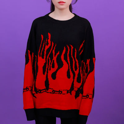 """HELL"" SWEATERS"