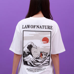 """LAW OF NATURE"" SHIRTS"