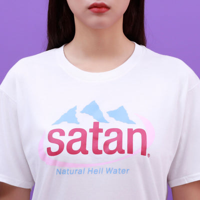 """SATAN: NATURAL HELL WATER"" SHIRT"