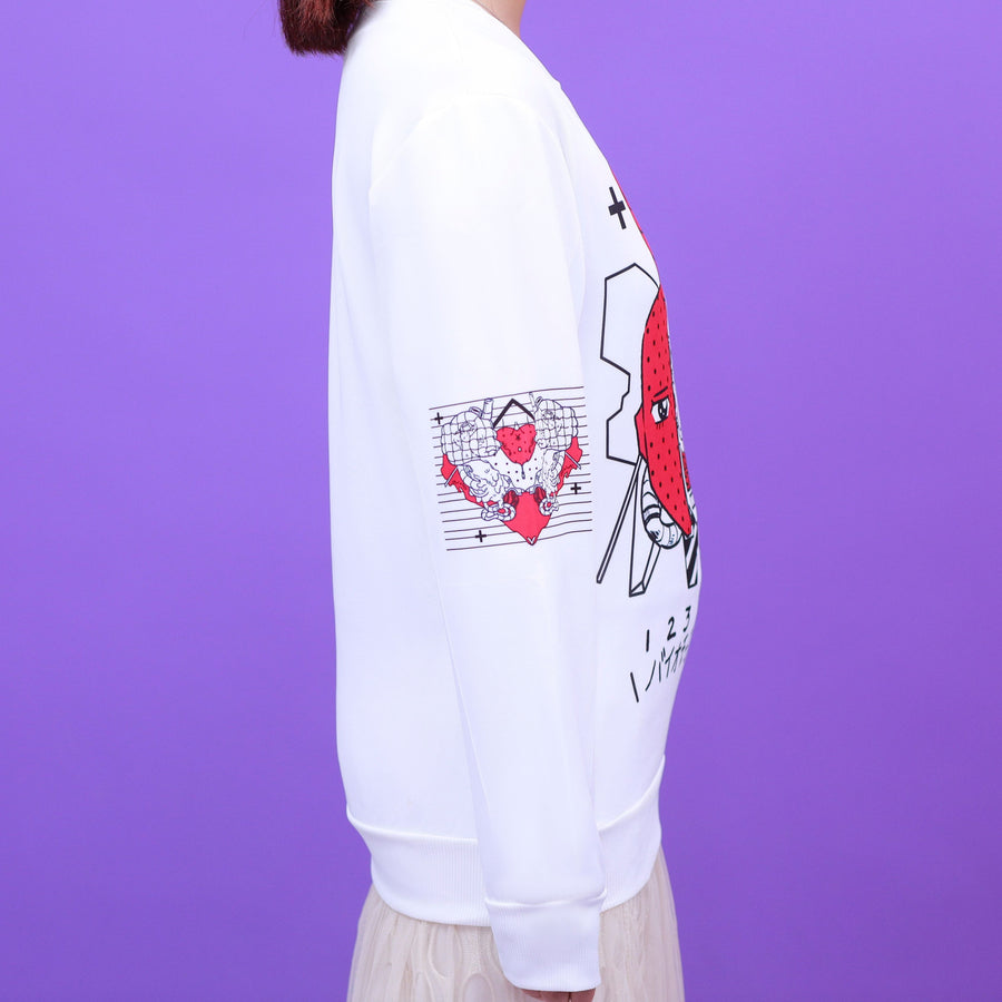 """BIOMORPHIC"" SWEATSHIRT"