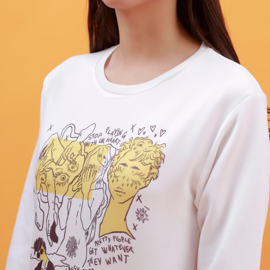 """SELF-LOATHING"" SWEATSHIRT"