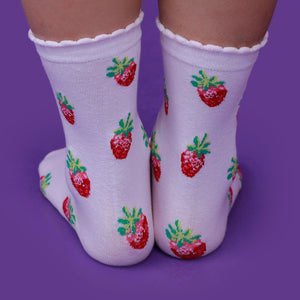 """STRAWBERRY"" SOCKS"
