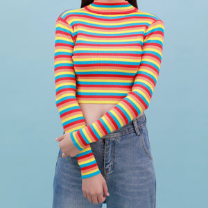 """SWIRL"" CROPPED SWEATER"
