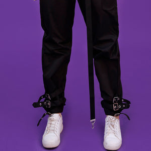 """STRAPPED"" PANTS"