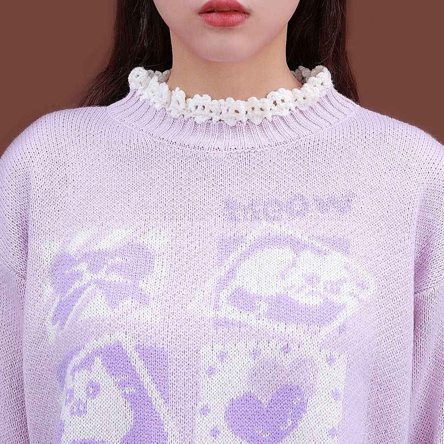 """HONEY CAT"" SWEATER"