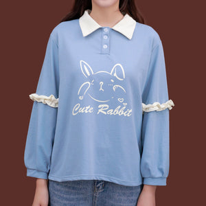 """CUTE RABBIT"" SWEATERS"
