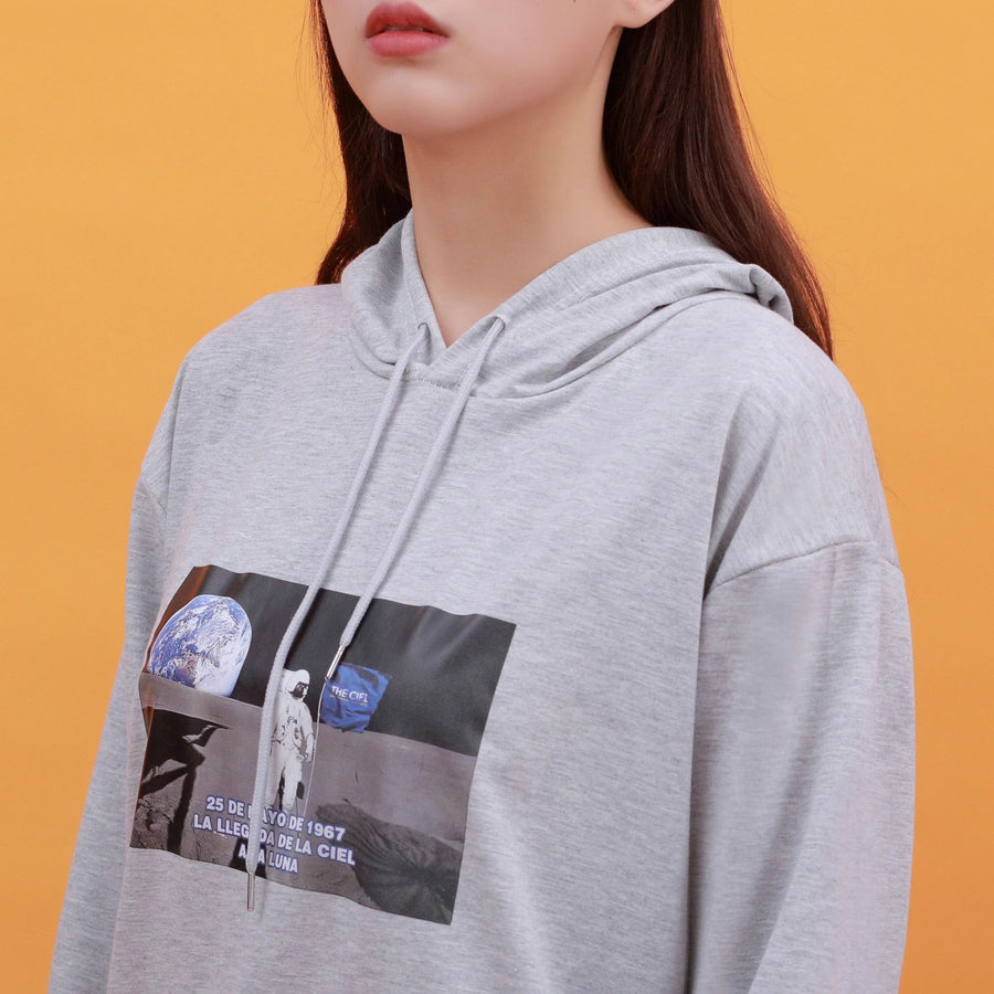 """FIRST MAN ON THE MOON"" HOODIE"