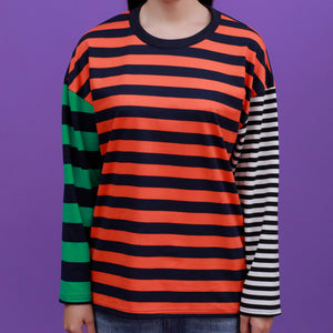 """MULTICOLORED-STRIPED"" LONG SLEEVES"