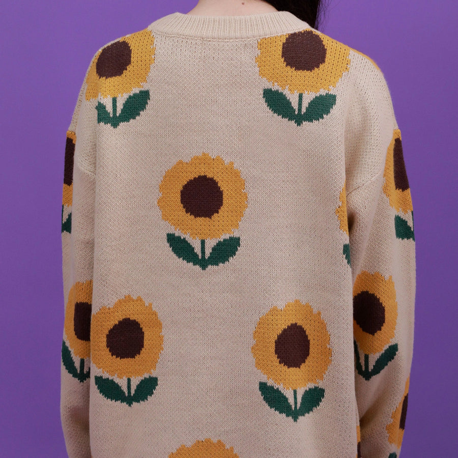 """SUNFLOWERS"" SWEATERS"