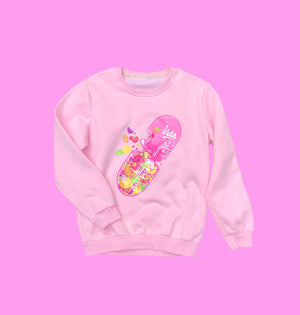 """FRUITY CAPSULE"" SWEATSHIRT"