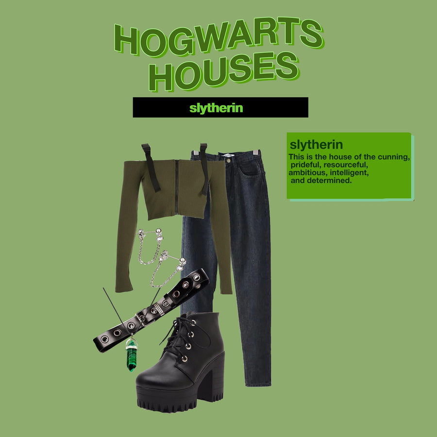 HARRY POTTER: HOGWARTS HOUSES (4 OUTFITS)