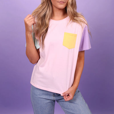 """PASTEL PATCHES"" T-SHIRTS"