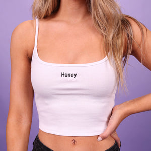 """HONEY"" CROP TOPS"