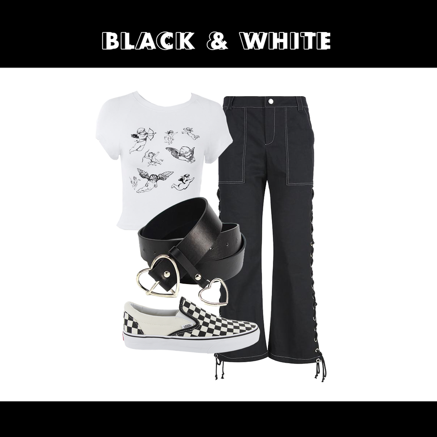 BLACK & WHITE (2 OUTFITS)