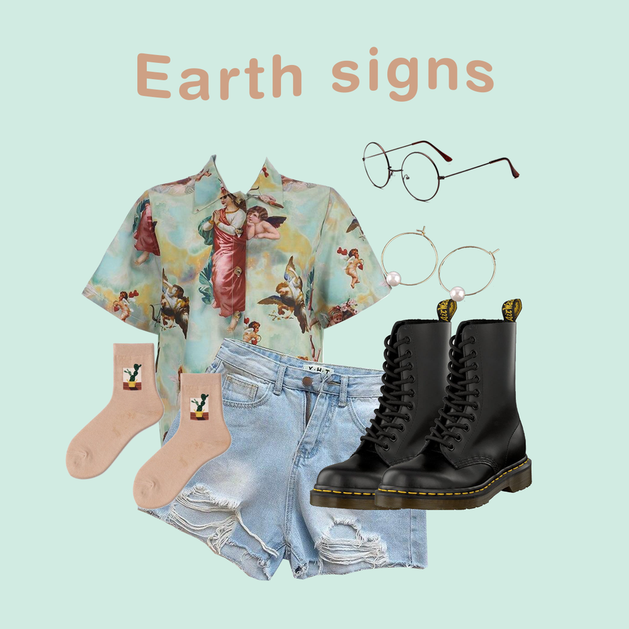 ELEMENTAL SIGNS (4 OUTFITS)