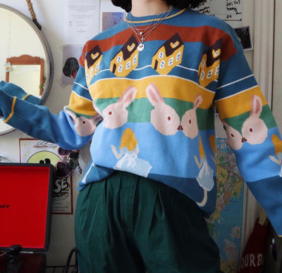 """ALICE IN WONDERLAND"" SWEATER"