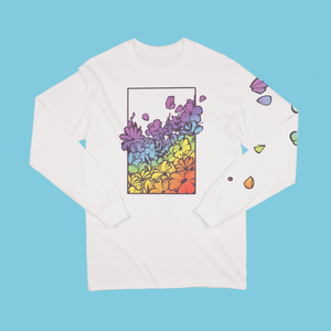 """PRIDE FLOWERS"" LONG SLEEVE"