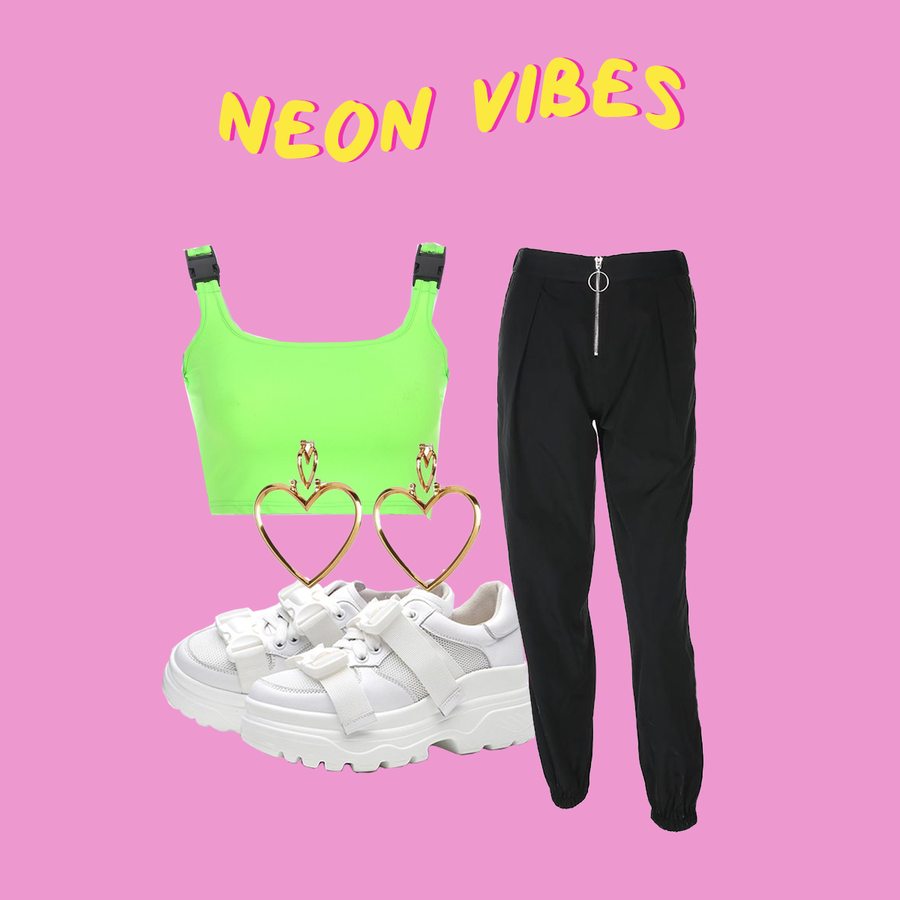 NEON VIBES (2 OUTFITS)