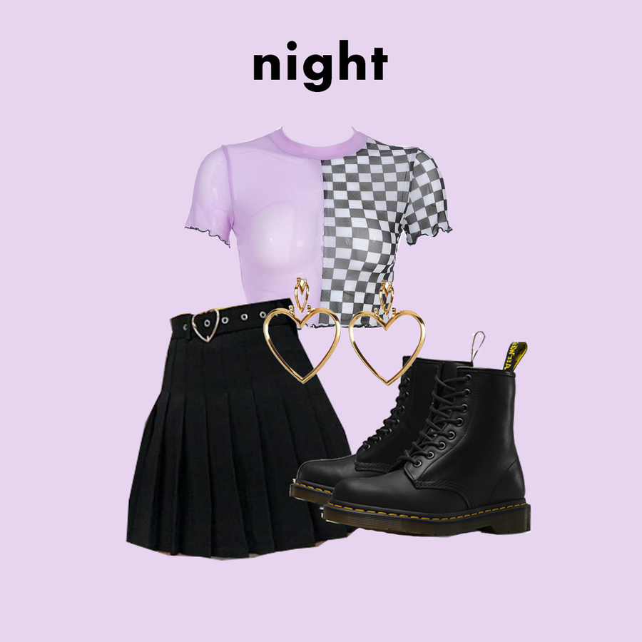 DAY OR NIGHT? (2 OUTFITS)