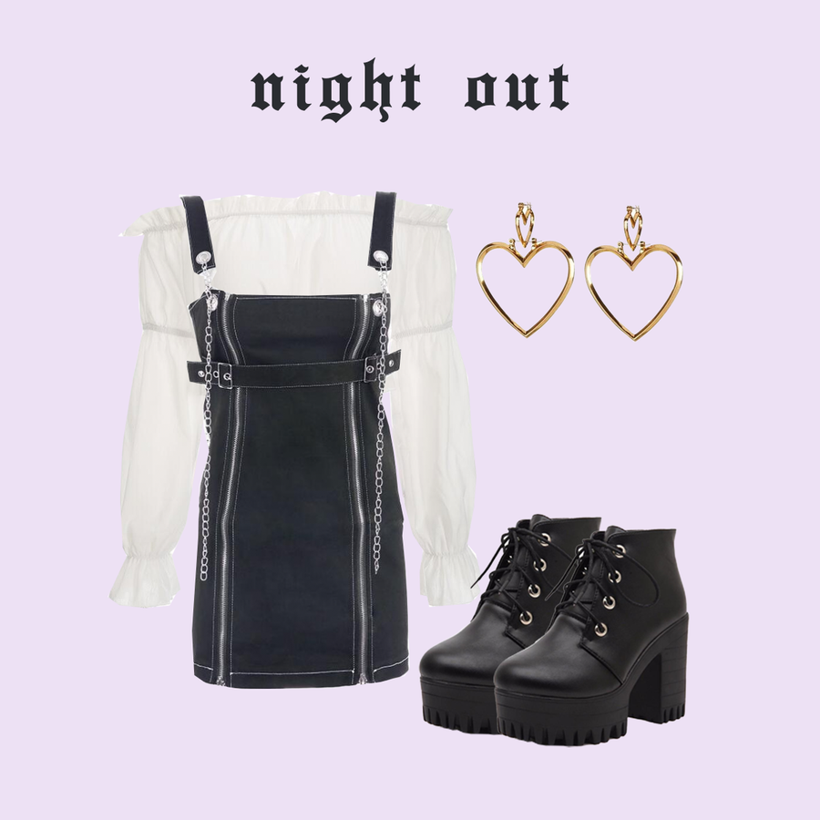 NIGHT OUT (2 OUTFITS)