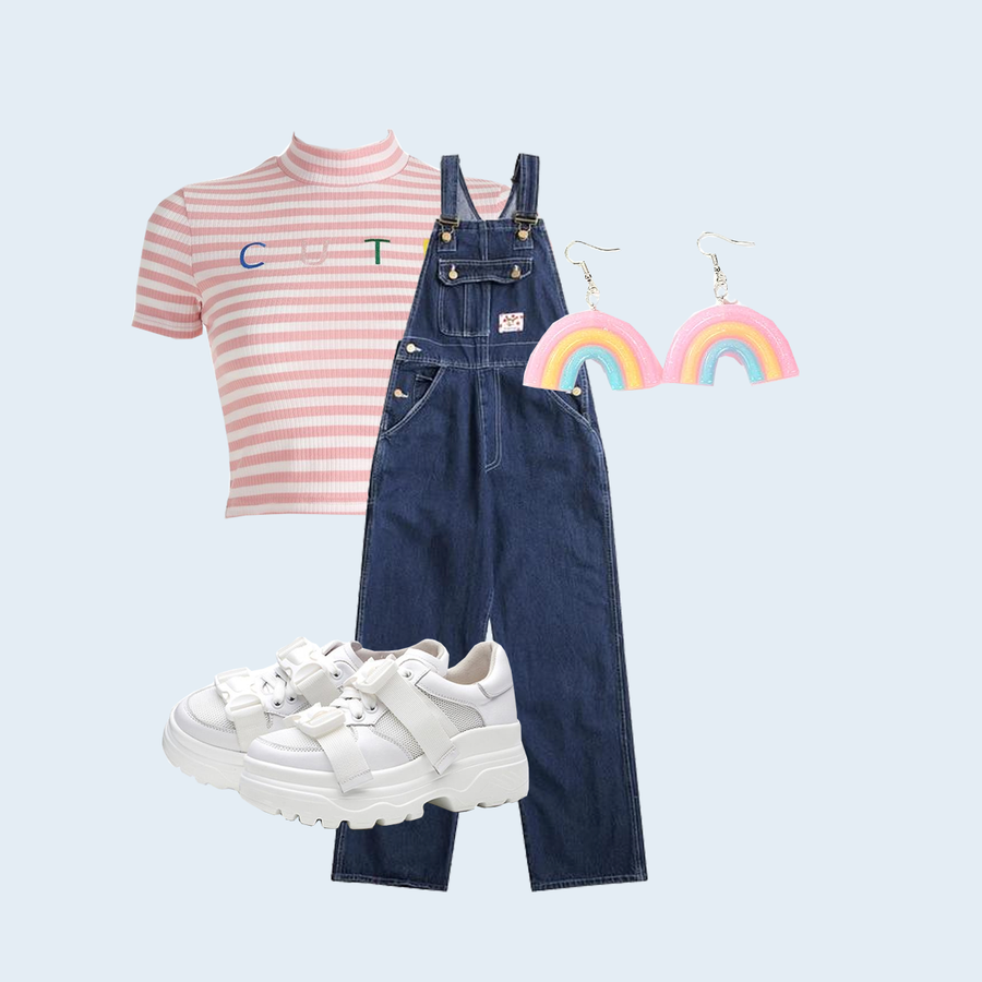 OVERALLS (4 OUTFITS)