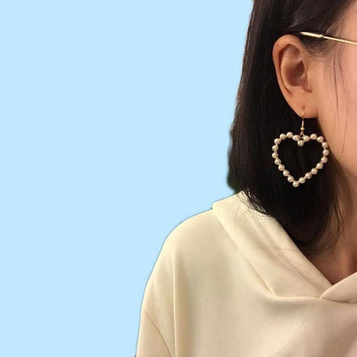 """PEARLY LOVE"" EARRINGS"