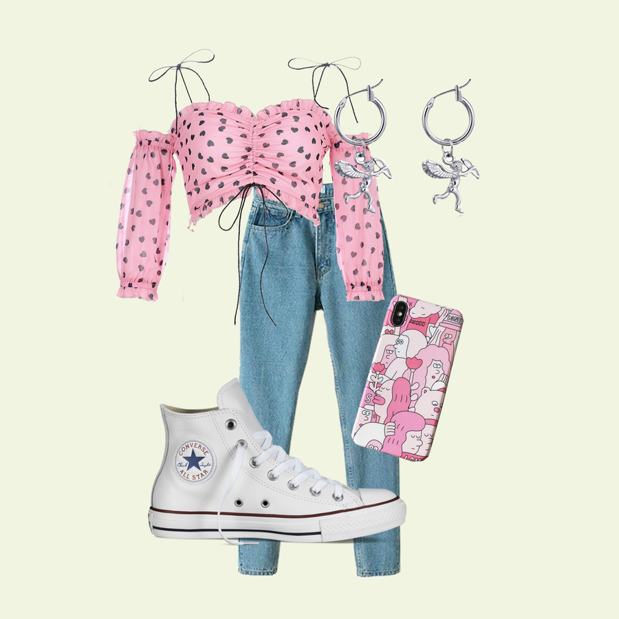 PINK-BLUE (2 OUTFITS)