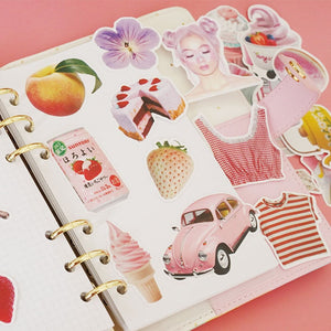 """PINK GIRL"" STICKERS"