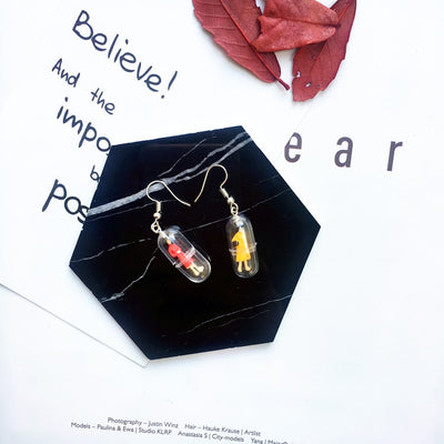 """CAPSULE"" EARRINGS"
