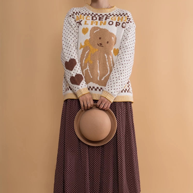 """ABCBEAR"" SWEATER"
