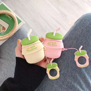 """FRUITY MILK"" AIRPODS CASES"