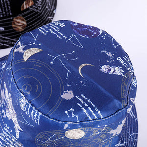 """SPACE RACE"" BUCKET HATS"