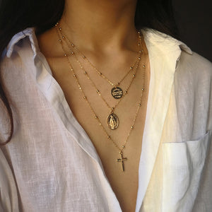 """MY LORD"" LAYERED NECKLACE"