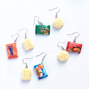"""RAMEN"" EARRINGS"