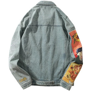 """VAN GOGH"" DENIM JACKET"