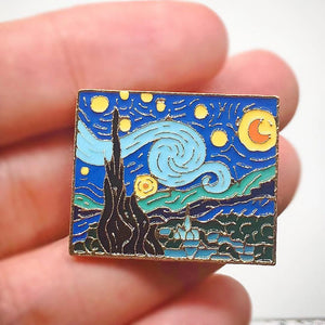 """STARRY NIGHT"" PIN"