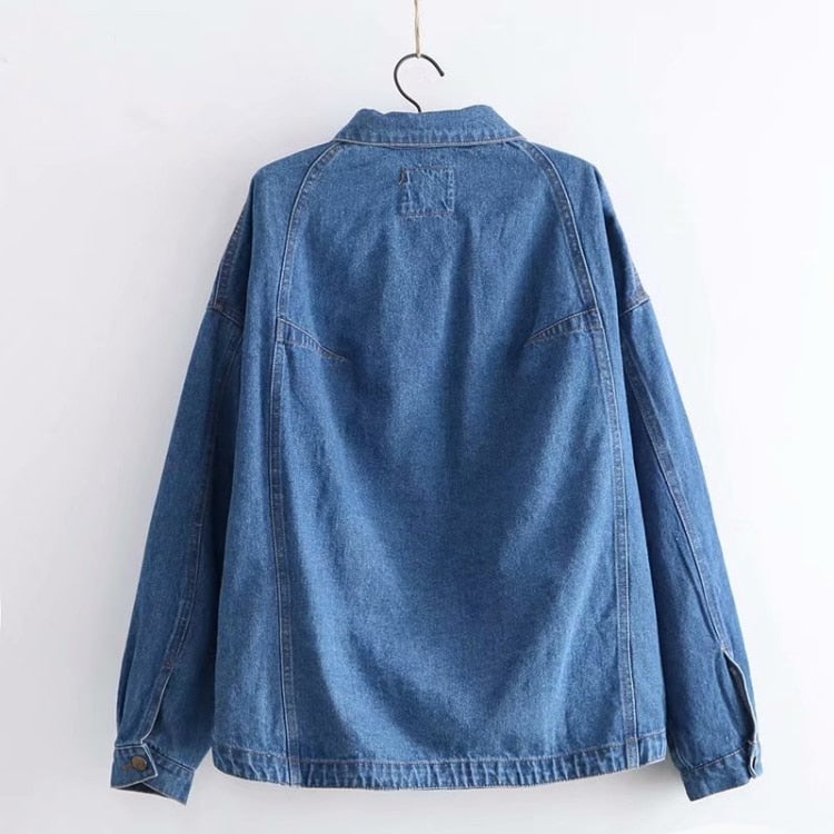 """BISCUIT COOKIES"" DENIM JACKET"