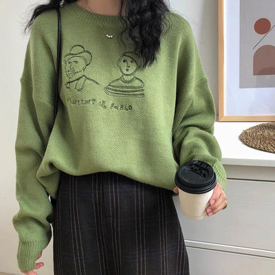 """ICONIC ARTISTS"" SWEATER"