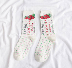 """JAPANESE MILK"" SOCKS"