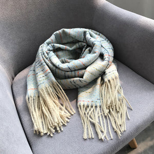 """TASSELED"" SCARVES"