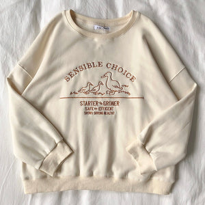 """SENSIBLE CHOICE"" SWEATSHIRTS"