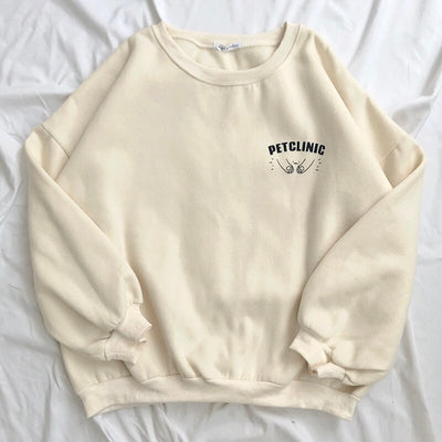 """PET CLINIC"" SWEATSHIRTS"